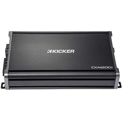 Kicker CX1200.1 1200W Mono D Audio Amplifier: Electronics