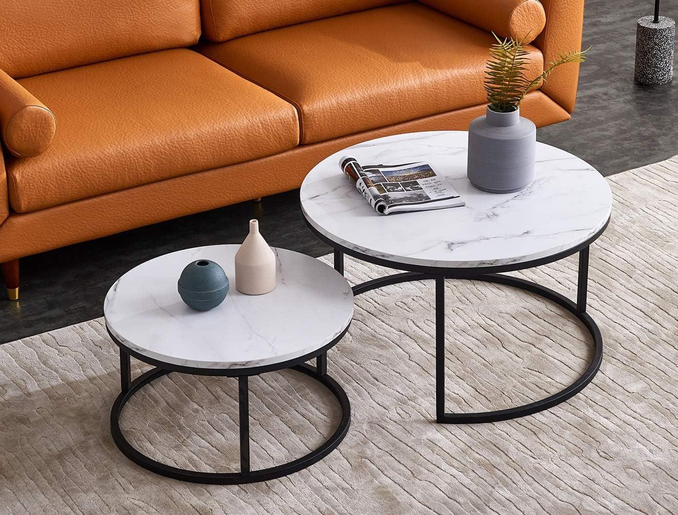 2-Piece Coffee Coffee Tables Set