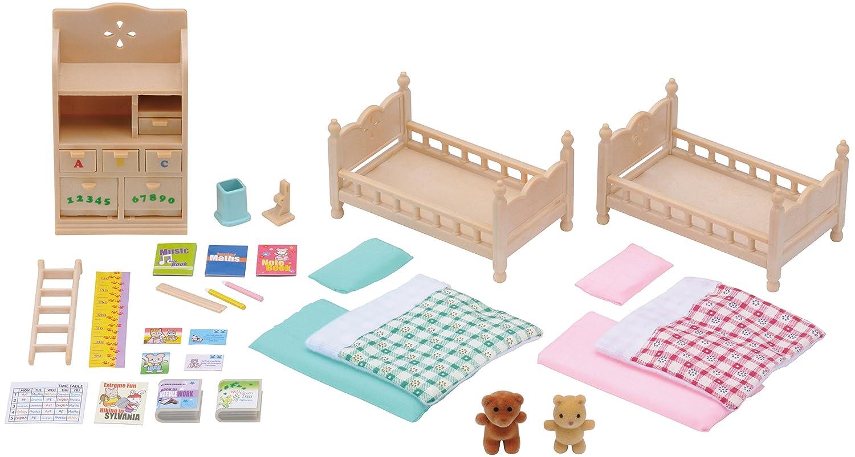 Sylvanian Families Flair 4254 Toys Import Grande Bretagne Set Chambre Enfant Poupées et Accessoires