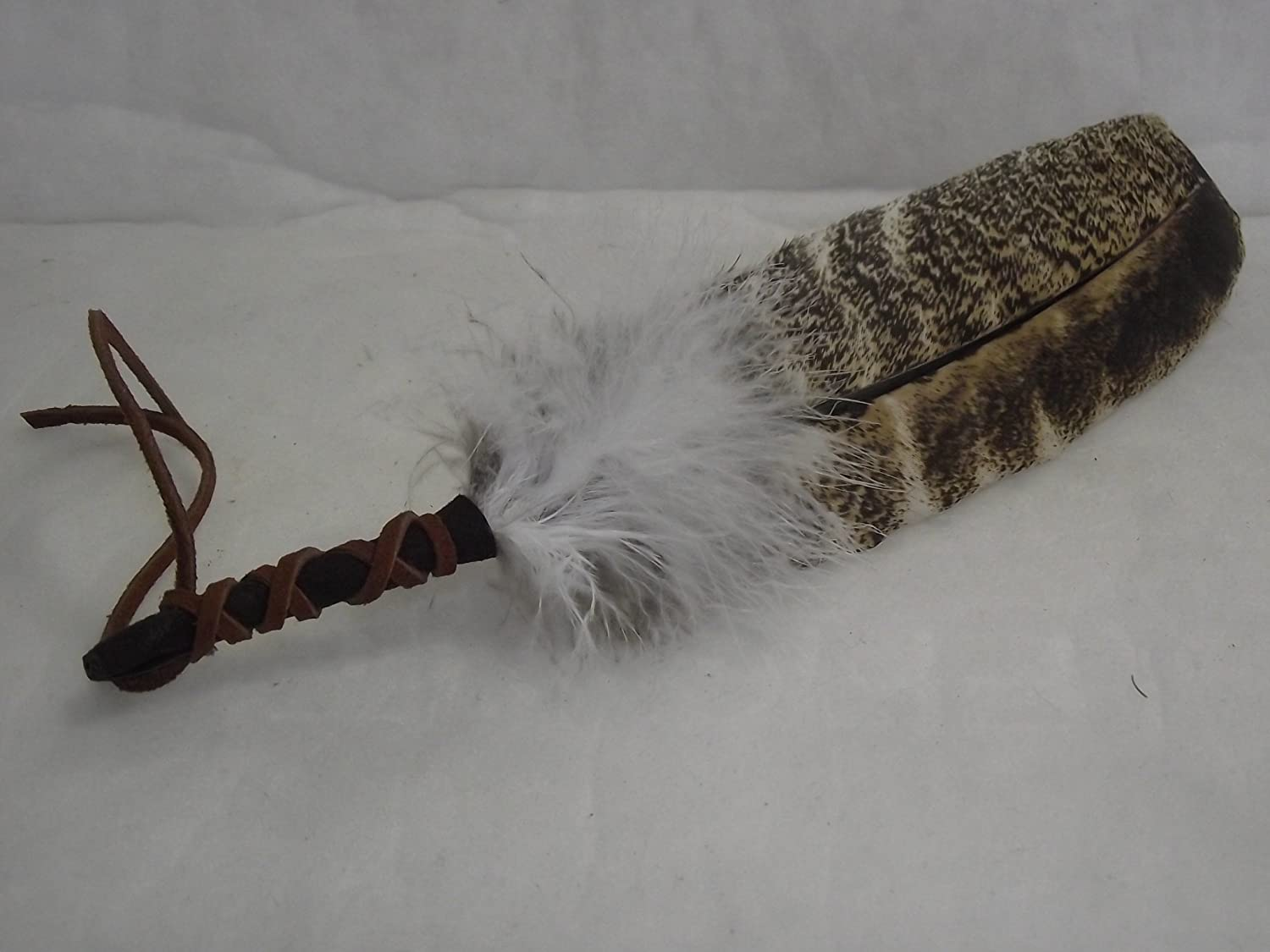 Smudging Feather Blessed for White Sage Smudge and Ceremonies Sage N Smudge TM