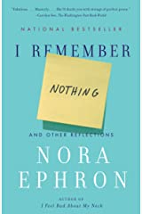 I Remember Nothing: And Other Reflections Paperback