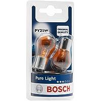 Bosch 1987301018 Autolamp PY21W Pure Light - stop-/knipperlicht/achter-/kentekenplaatlamp