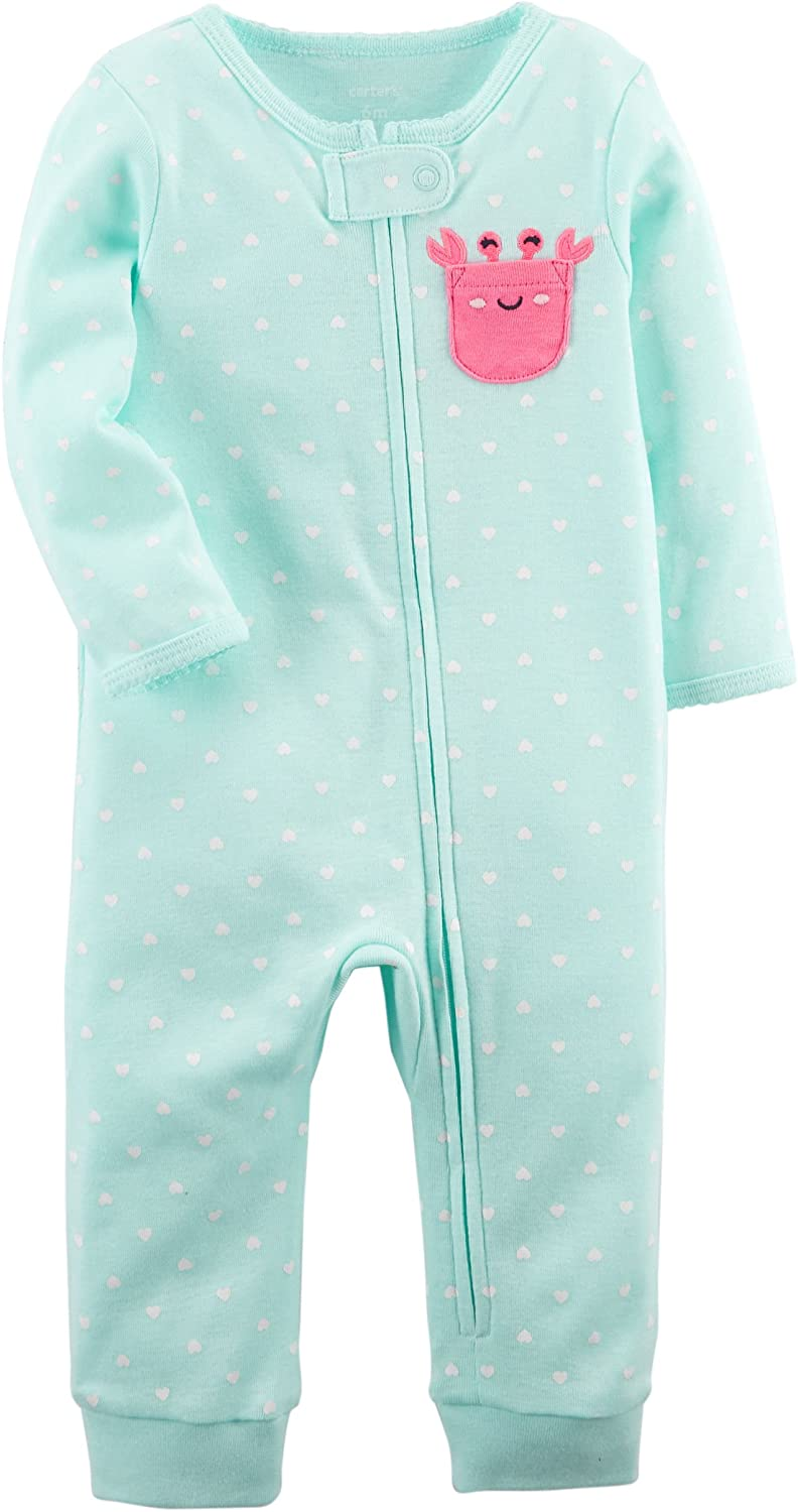 43ffbb896 Amazon.com: Carter's Baby Girls' Interlock 115g247: Clothing