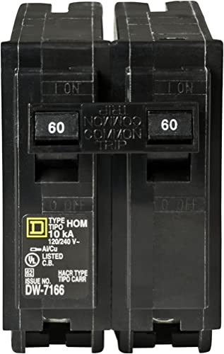 Your One Source HOM260CP 60-Amp 2-Pole Plug-On Circuit Breaker