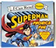 Superman Classic: Superman Phonics Fun (Includes 12 Books) (My First I Can Read)