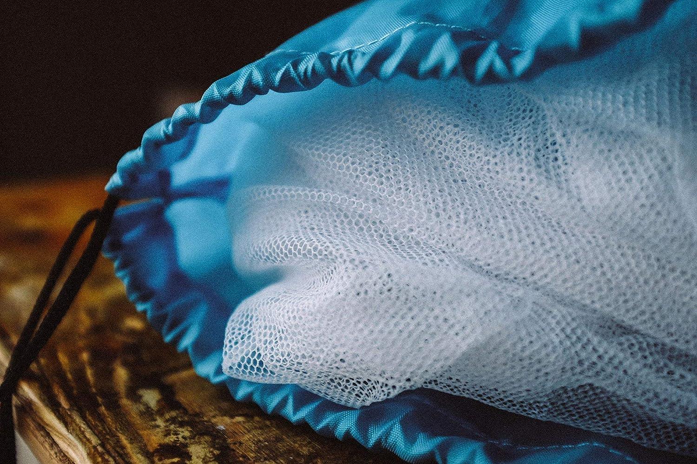Kasten Box imprägniert für Reisen in tropische Gebiete 200x200x200cm Würfel GG-04 Würfel GlisGlis Blue Cube – XL Moskitonetz Baldachin Würfelform mit Gummizug im Boden /& Eingang mit Reißverschluss Mückennetz Doppelbett