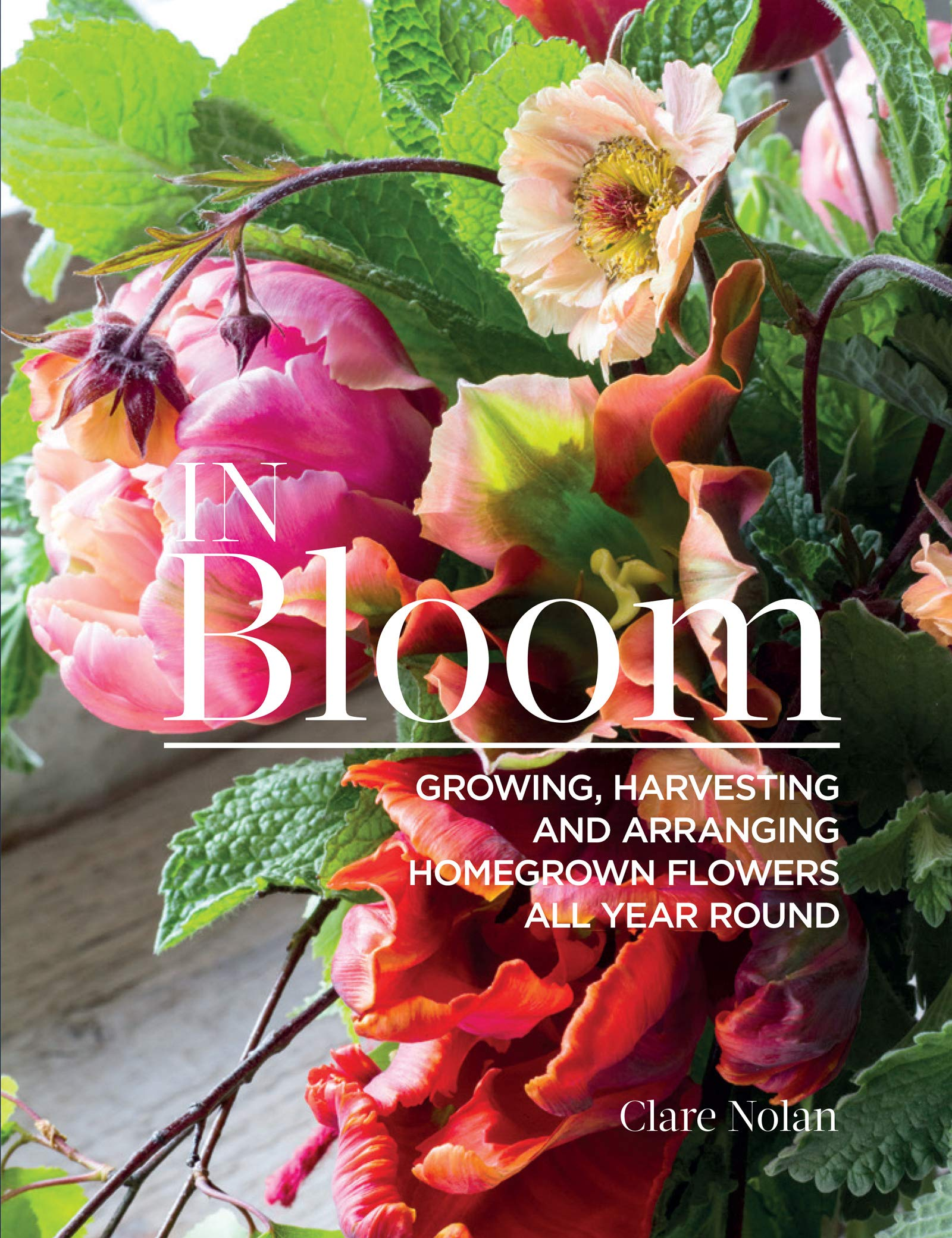 In Bloom Growing Harvesting And Arranging Homegrown Flowers All
