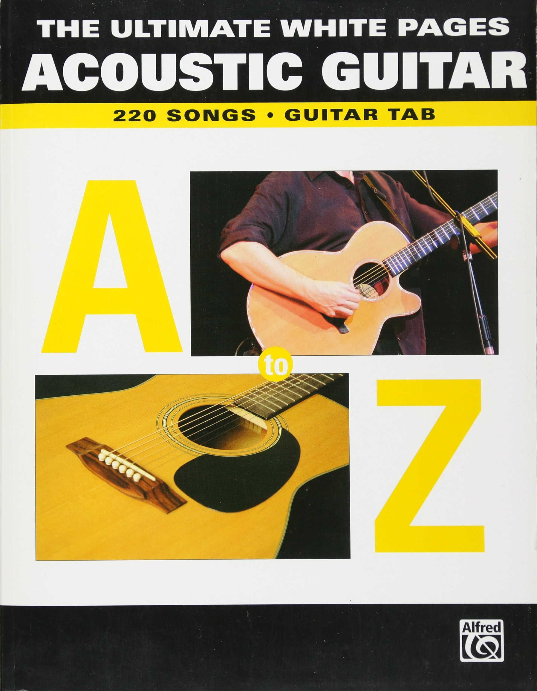Amazon The Ultimate Song Pages Acoustic Guitar A To Z