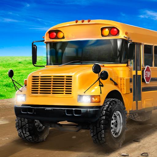 School Bus: Offroad Driving Sim