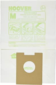 Hoover Paper Bag, Type M Canister Dimension (Pack of 3)