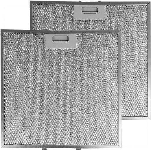 Spares2go - Filtro de grasa para campana extractora Zanussi ZHC6234X ZHC9234X (330 x 320 mm, 2 unidades): Amazon.es: Hogar