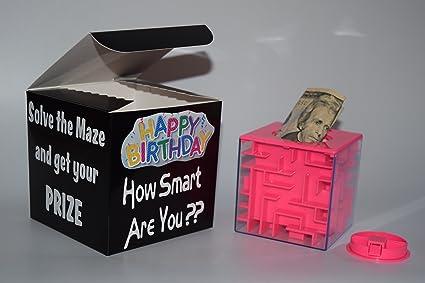 Amazon Com Money Maze Box Present Money Bank Best Way