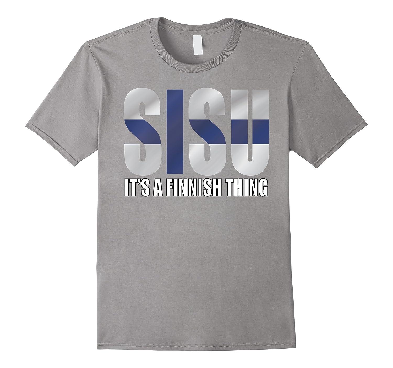 Sisu - It's A Finnish Thing - Finn T-Shirt-FL