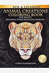 Animal Creations Coloring Book: Inspired By Nature Paperback