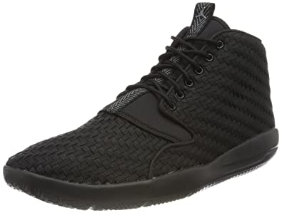 Nike Jordan Eclipse Chukka, Chaussures de Basketball Homme, Noir (Black/Cool Grey
