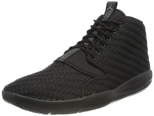 8637e7fb3d Nike Jordan Eclipse Chukka, Scarpe da Basket Uomo, Nero (Black/Cool Grey
