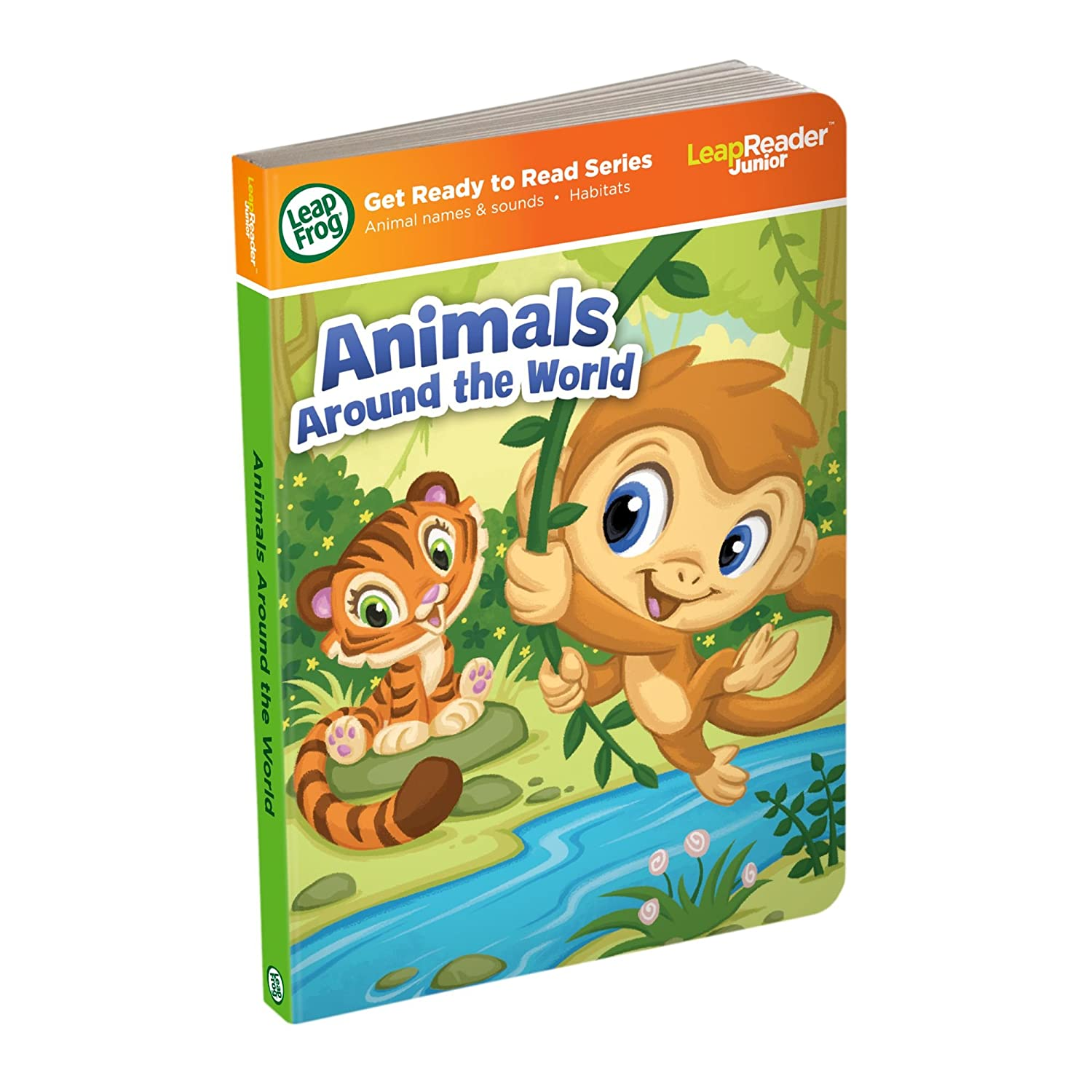 LeapFrog LeapReader Junior Book Animals Around the World works with Tag Junior