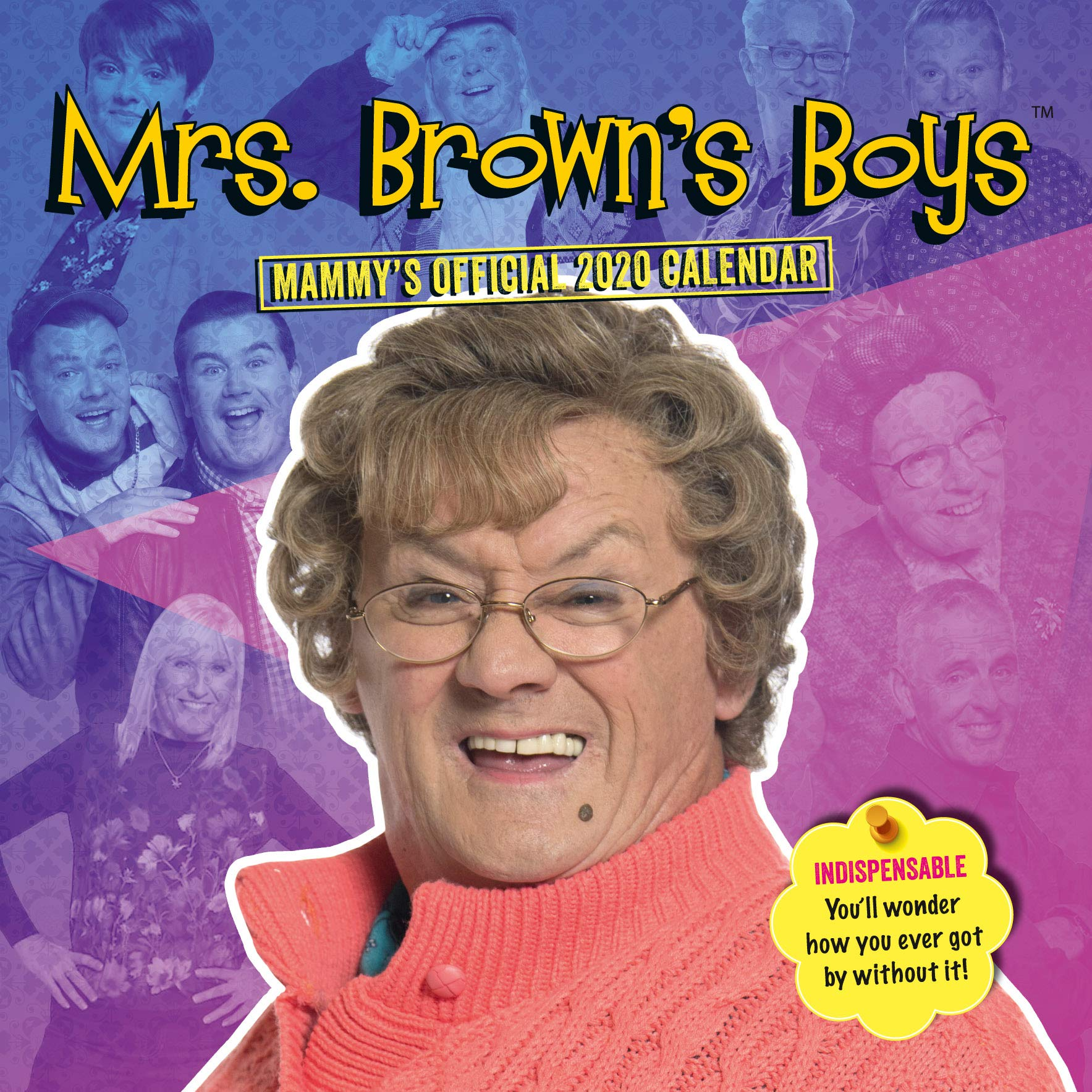 Mrs Browns Boys Christmas Special 2020 Mrs Brown's Boys 2020 Calendar   Official Square Wall Format