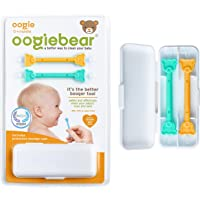oogiebear - Curved Scoop and Loop; The Safe Baby Nasal Booger and Ear Cleaner - Easy Baby Nose Cleaner Gadget for…