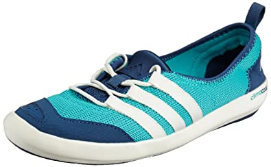Adidas sailing climacool Boat Lace Schuh, Größe:40 EU, Farbe:Mint Blue/White/Green