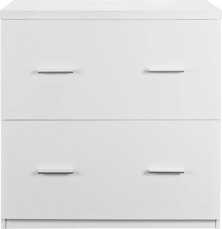 Altra Princeton Lateral File Cabinet - White