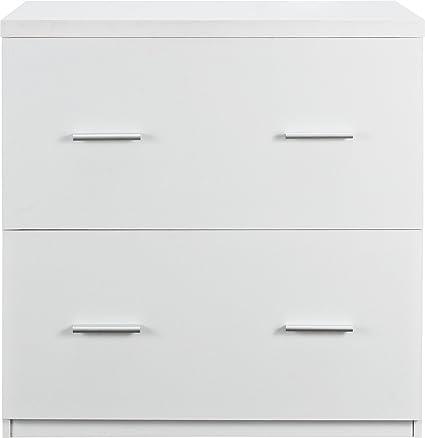 Beau Altra Furniture Ameriwood Home Princeton Lateral File Cabinet, White