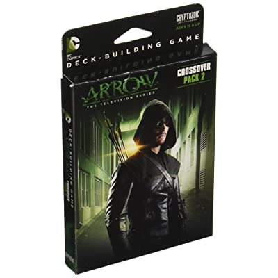 Cryptozoic Entertainment DC Deck-Building Game Crossover Pack 2: Arrow – The Television Series: Toys & Games