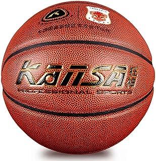 Kanza (intérieur ou extérieur PU Materia Sports Ballon de basket antidérapante résistante à l'usure Boule Basketball KANSA
