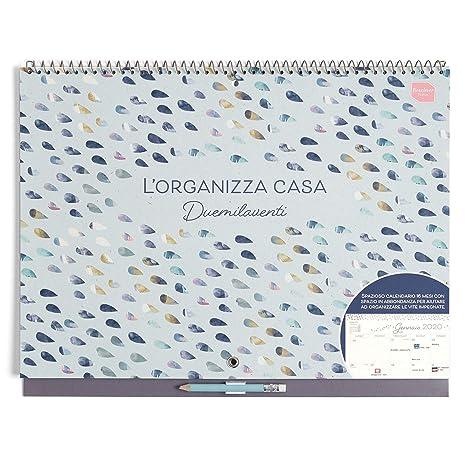 Calendario Iva 2020.Boxclever Press L Organizza Casa Calendario Mensile 2019 2020 Calendario 2019 Da Muro Accademico In Italiano Con Ampio Spazio Inizia Da Settembre