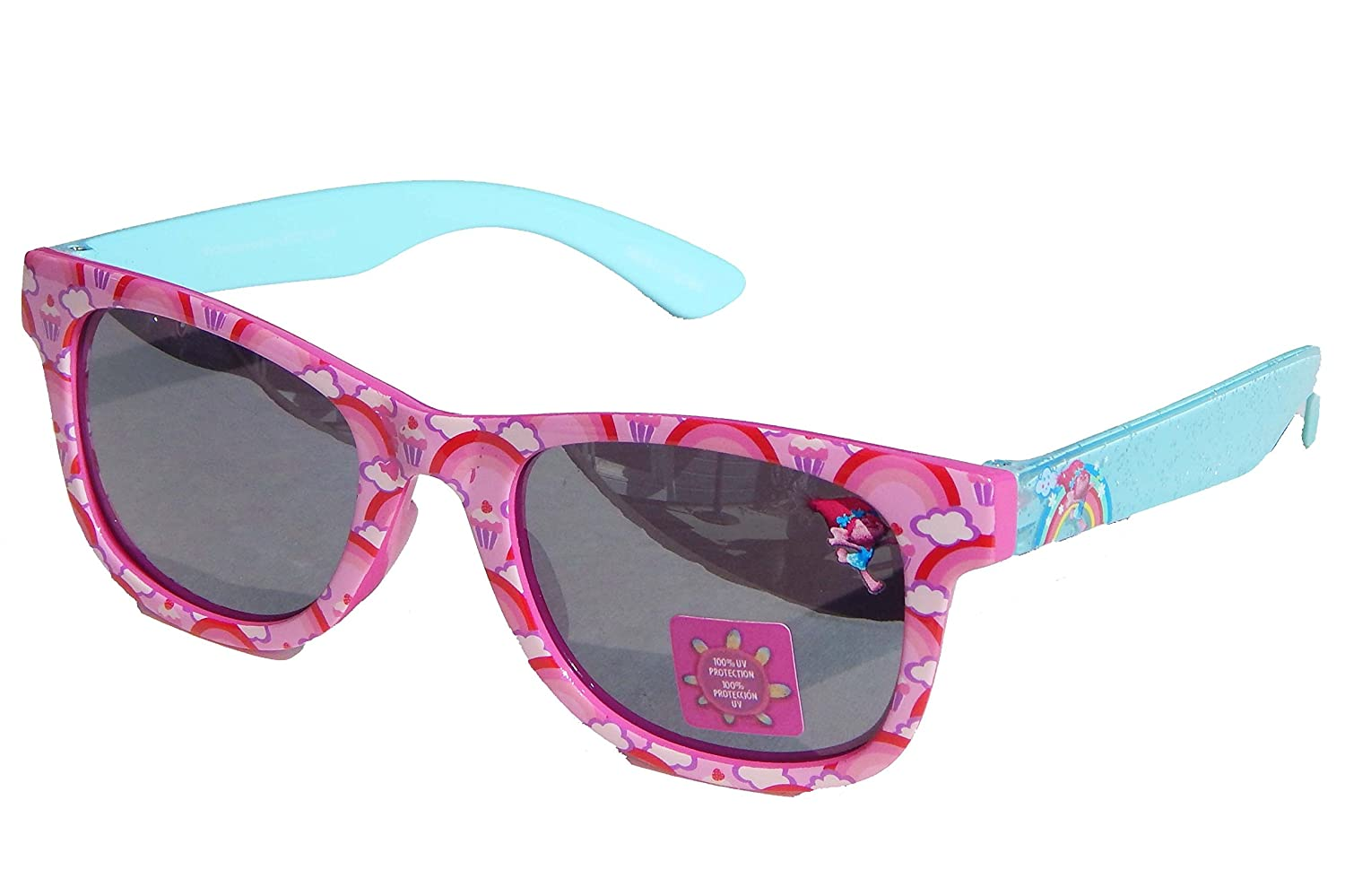 TROLLS PRINCESS POPPY Girls 100% UV Shatter Resistant Sunglasses