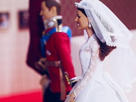 Amazon.com: Princesa Catherine boda muñeca | Kate Middleton ...