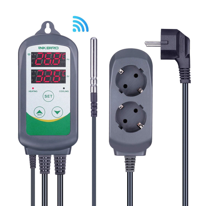 Inkbird ITC-308 WiFi Termostato Digital 220V, App Control Remoto ...