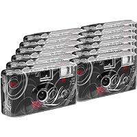 TopShot Love black Einwegkamera / Hochzeitskamera (27 Fotos, Blitz, 12-er Pack)