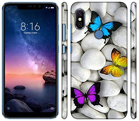 buy popular 466d2 5fd8f we make print Back Cover for redmi Note 6 pro 3D: Amazon.in: Electronics
