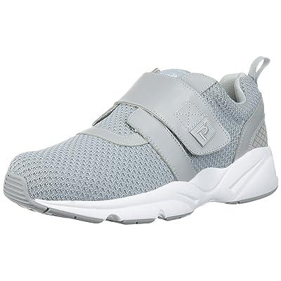 Propet Men's Stability X Strap Sneaker, Light Grey, 13 2X-Wide | Walking