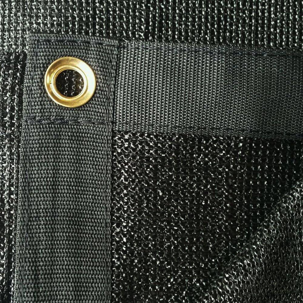 Xtarps – 10 ft. x 30 ft. – 7 oz Premium 90 Shade Cloth, Shade Sail, Sun Shade Black Color