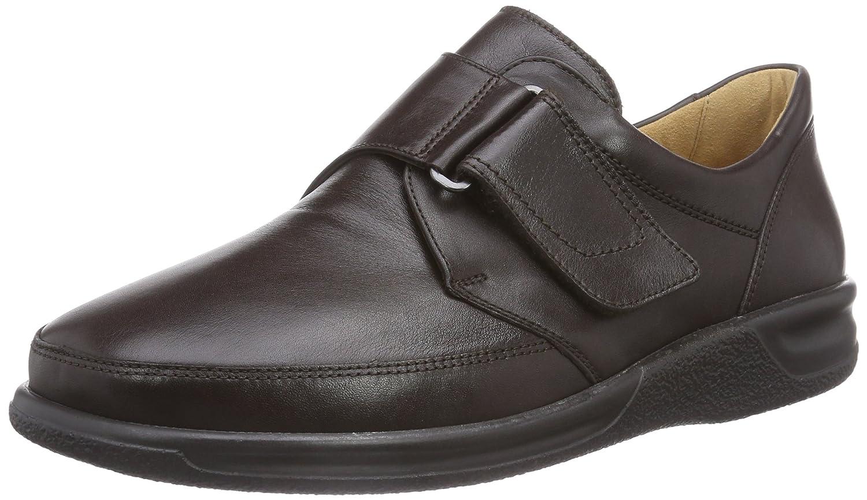 Ganter Sensitiv Kurt, Weite K - Zapatillas de casa de Cuero Hombre 44 EU|Marrón - Braun (Espresso 2000)
