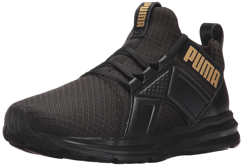 Puma Damen Enzo Premium Mesh Schuhe  38.5 EU|Puma Black/Puma Team Gold