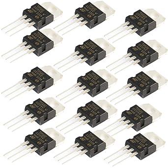 STMicroelectronics TIP120 TO-220 NPN Power Darlington Transistor 16