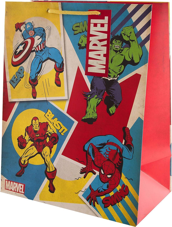 1 Large Captain America Gift Bag Christmas Gift
