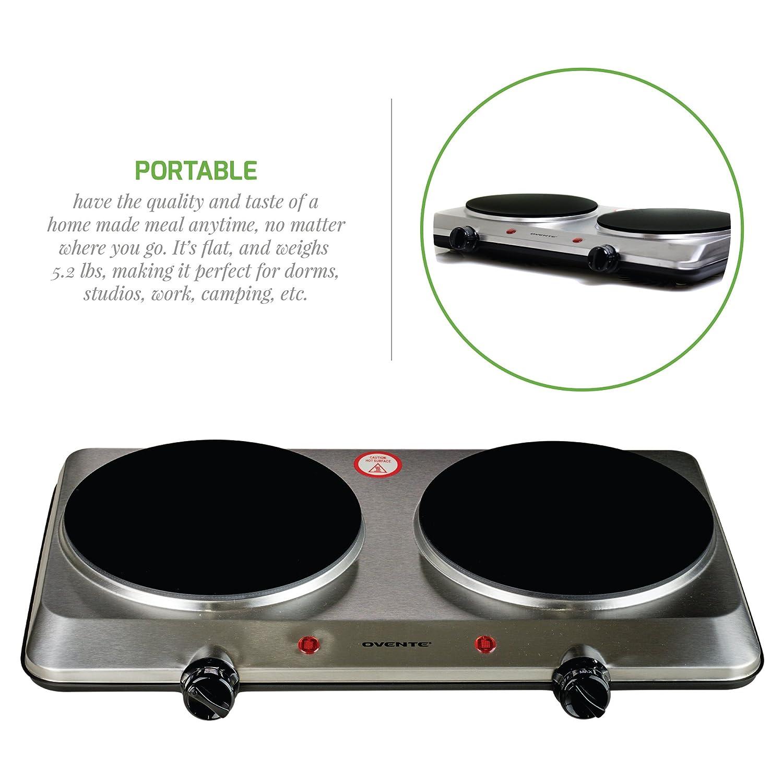 Amazon.com: Ovente BG6 Serie de cerámica para inducción ...