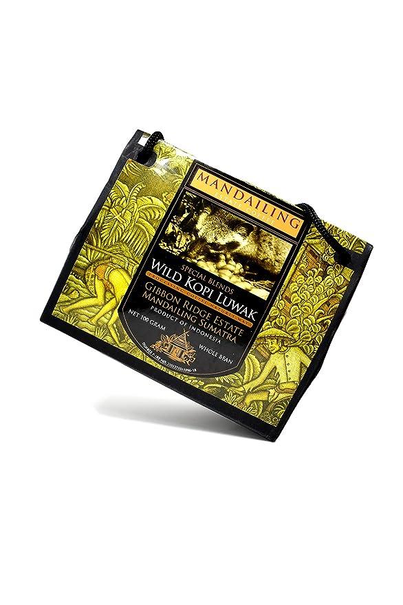 Kopi Luwak Natural (Granos de café) - El café más raro del ...