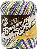 Lily Sugar 'N Cream Yarn, 2 Ounce, Fruit Punch, Single Ball