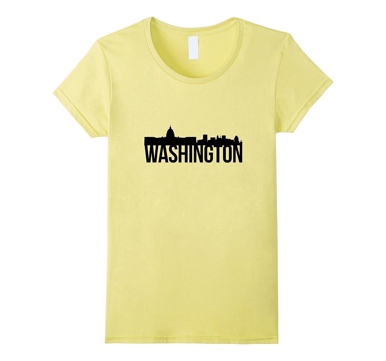 Amazon Washington Dc T Shirt Landmark Skyline Design Clothing