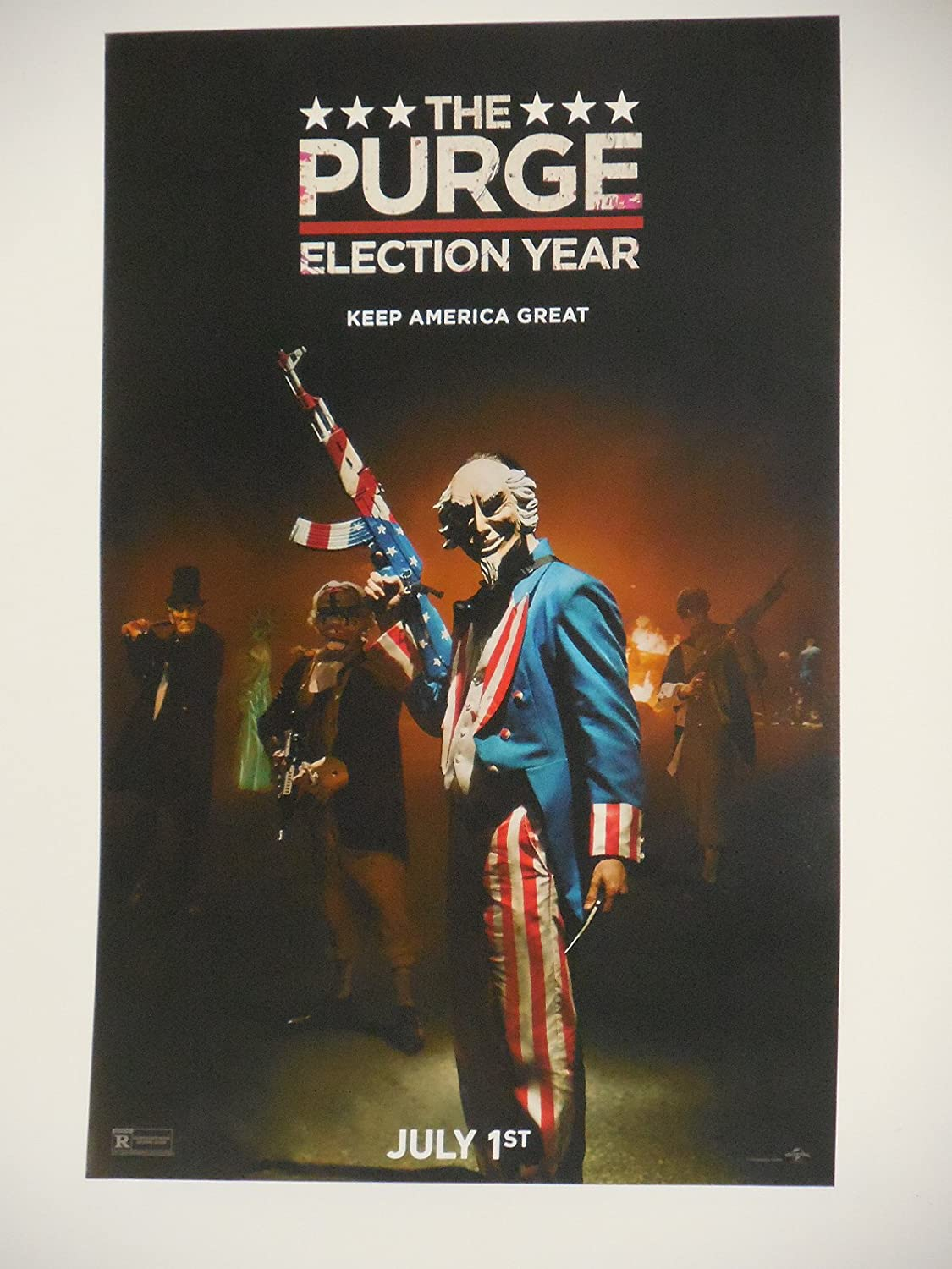 Purge Election Year 11x17 Inch Promo Movie Poster