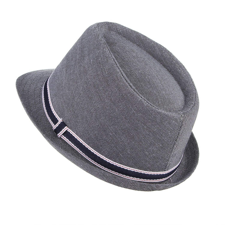 Fedora Hats Summer Hats for Men Jazz Hat Classic Vintage Panama Caps Derby Bowler Cotton Church Hat Sun Cap