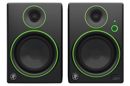 """111 opinioni per Mackie CR5BT Monitor Multimediali Bluetooth con Woofer da 5"""", Nero (Coppia)"""