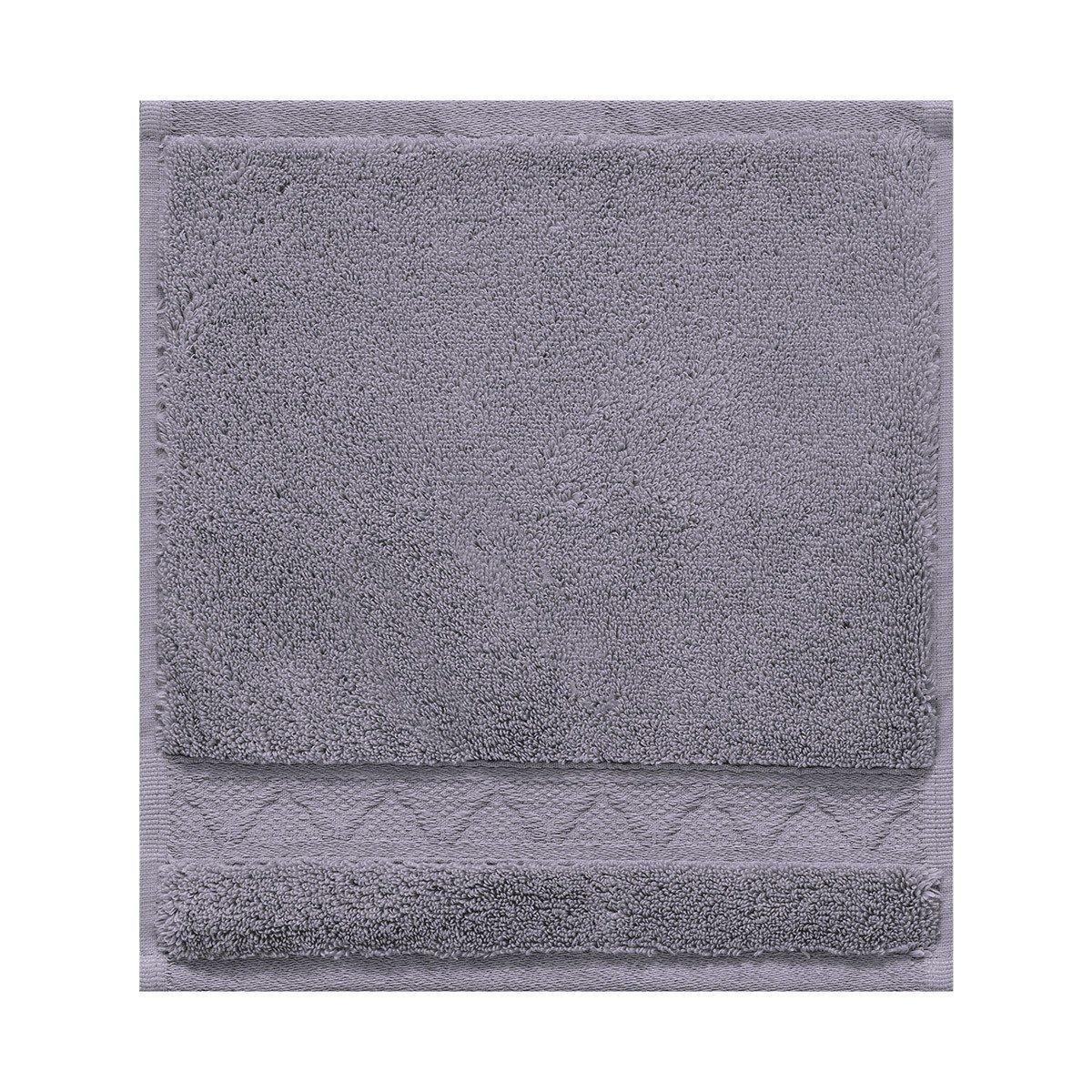 Le Jacquard Francais 22840 toalla de baño mosaico algodón velo grisáceo 50 x 30 cm: Amazon.es: Hogar