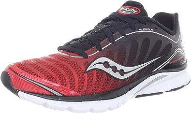 SAUCONY Pro Grid Kinvara 3 Zapatilla de Running Caballero, Rojo/Blanco/Negro, 44.5: Amazon.es: Zapatos y complementos