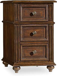 Hooker Furniture Leesburg Chairside End Table in Mahogany
